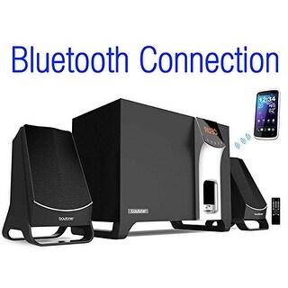 Boytone BT-3107F, Wireless Bluetooth 2.1 Multimedia Speaker System, FM Radio, Remote, Aux Port, USB/SD, Home Theater