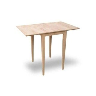 International Concepts T-2236D Small Dropleaf Dining Table