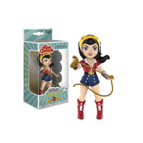 Rock Candy: DC Bombshells- Wonder Woman Figure