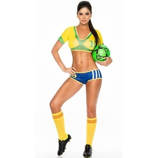 Brazil Soccer Player Costume, Brasil Jogador De Futebol Costume