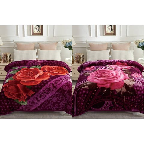 2 Ply Reversible Blanket Korean Style Mink Blanket