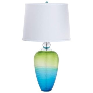 Cyan Design Puffer Table Lamp Puffer 1 Light Accent Table Lamp with White Shade
