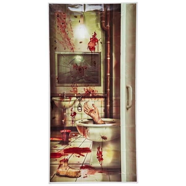 Creepy Crapper Restroom Door C