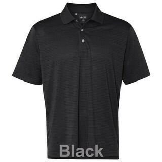 adidas - Golf ClimaLite® Textured Short Sleeve Polo
