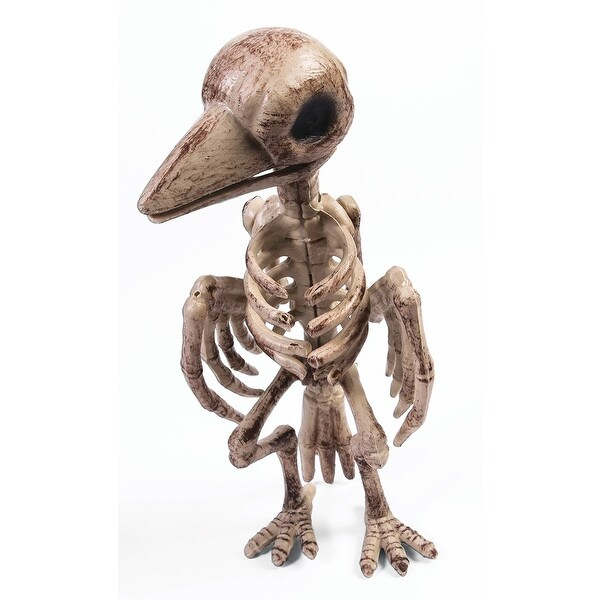 Skeleton Raven Halloween Décor