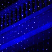 """300 LED Lights String Light 118""""*118"""" for Christmas Party Decoration Blue"""