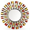 Metro Design Mirror - Multi - 34.0 in. x 34.0 in. x 2.0 in. - Thumbnail 0