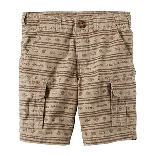 Carter's Baby Boys' Printed Cargo Shorts,18 Months