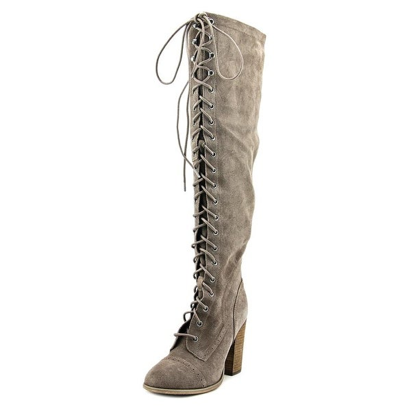 Carlos by Carlos Santana Radley Women Round Toe Suede Brown Knee High Boot