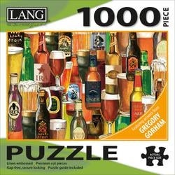 """Crafted Brews - Jigsaw Puzzle 1000 Pieces 29""""X20"""""""