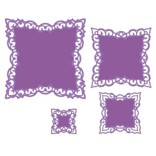 Spellbinders Nestabilities Dies-Labels 42 Decorative Elements
