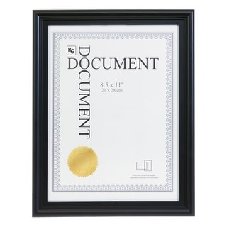 "Link to kieragrace KG Embassy Document Frame - Black - 8.5"" x11"" Similar Items in Decorative Accessories"