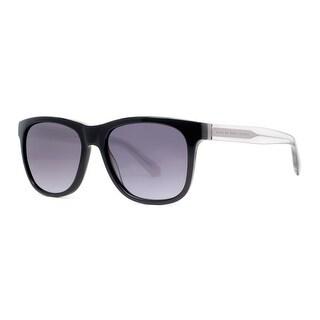 MARC BY MARC JACOBS Wayfarer MMJ 360/N/S Unisex 4GI HD Black Gray Sunglasses - 54mm-17mm-140mm