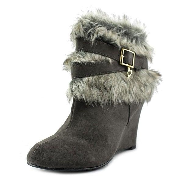 Thalia Sodi Saadief Women Charcoal Boots