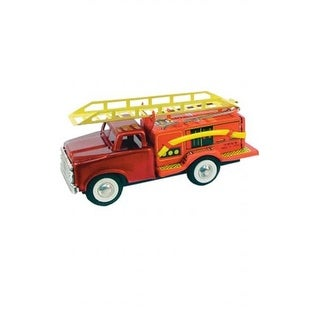 SHAN JMF163 Collectible Tin Toy - Fire Truck