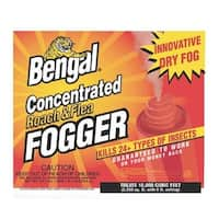 Bengal 55201 Concentrated Roach & Flea Fogger, 2.7 Oz