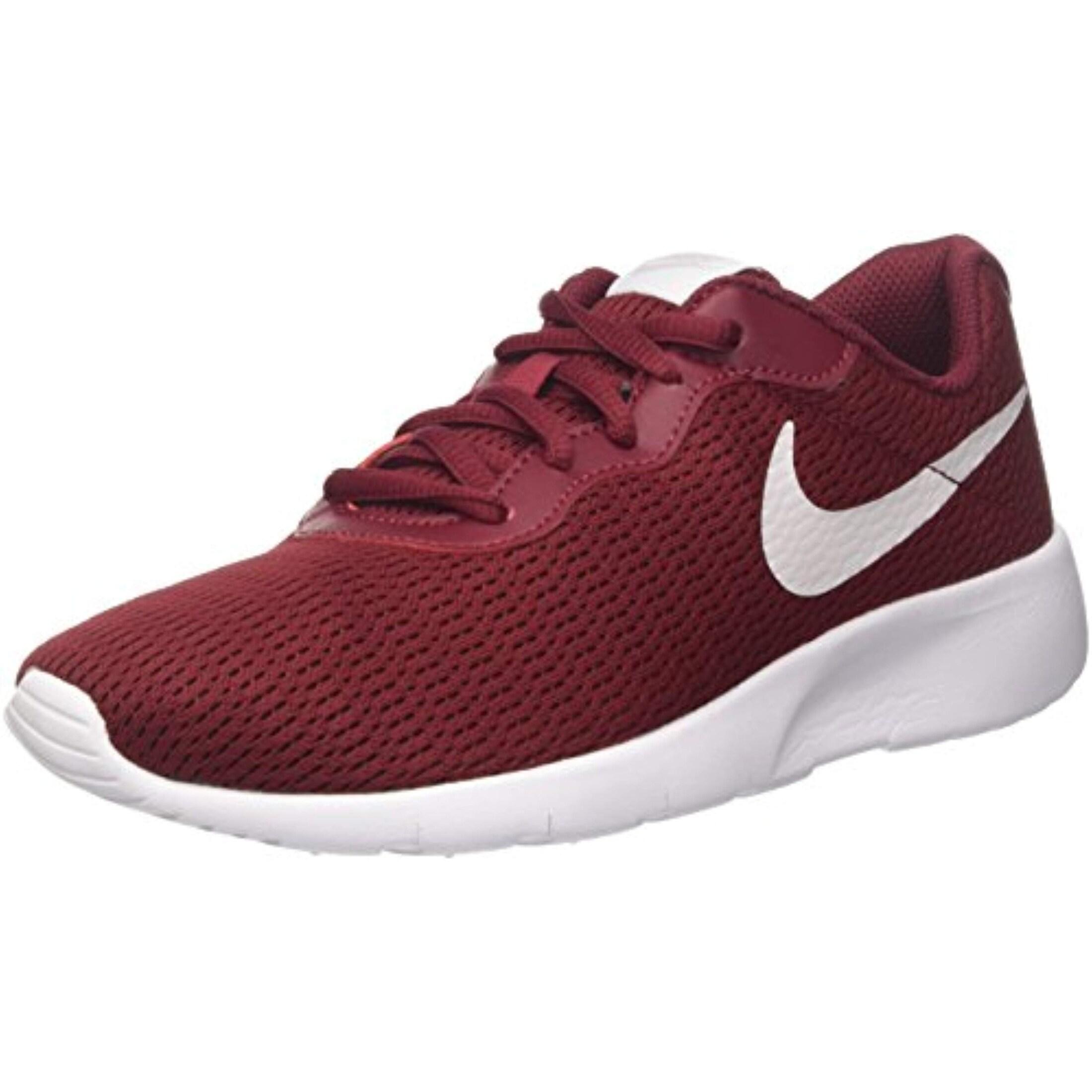 Nike Boys' Tanjun (Bg) Trainers, (Team RedVast Grey White 601)