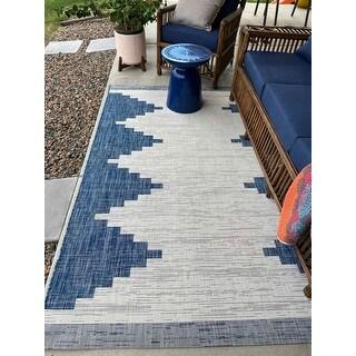Aleida Indoor/ Outdoor Modern Area Rug