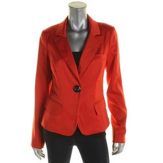 XOXO Womens Juniors Two-Button Blazer Long Sleeve Non-Vented - L
