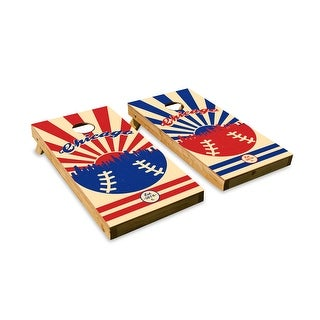 Chicago Cubs Cornhole Board Set