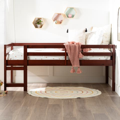 Taylor & Olive Browning Twin Size Low Loft Bed