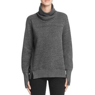 Alo Yoga Womens Sweatshirt Yoga Heathered