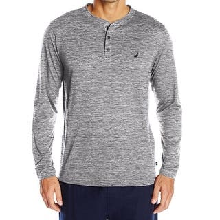Nautica NEW Gray Heather Mens Size XL Long-Sleeve Henley Nightshirt https://ak1.ostkcdn.com/images/products/is/images/direct/f960cc54c83cf4ad46c8ccd9f2d06232b1f69e83/Nautica-NEW-Gray-Heather-Mens-Size-XL-Long-Sleeve-Henley-Nightshirt.jpg?impolicy=medium