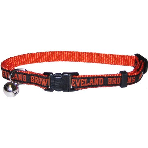 NFL Cleveland Browns Cat Collar