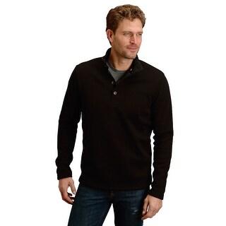 Stetson Western Sweater Mens L/S One Back Yoke 11-014-0120-0691 BL