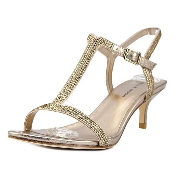 Pelle Moda Fact Plat Gold Metallic Sandals