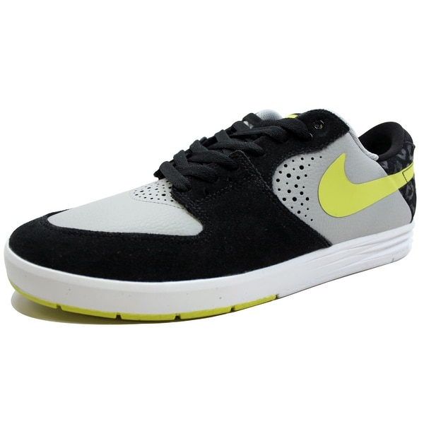 Nike Men's Paul Rodriguez 7 Base Grey/Venom Green-Black 599662-031