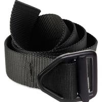 Bison Designs Last Chance Light Duty Black Buckle Belt - Black