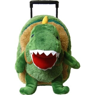 Kreative Kids Unisex Green T-Rex Plush Roller - One size