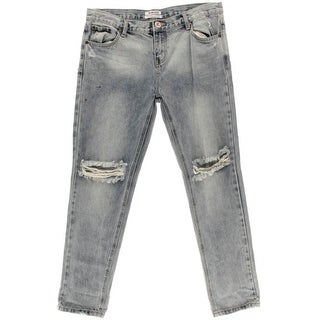 One Teaspoon Womens Destroyed Mid-Rise Boyfriend Jeans - 30