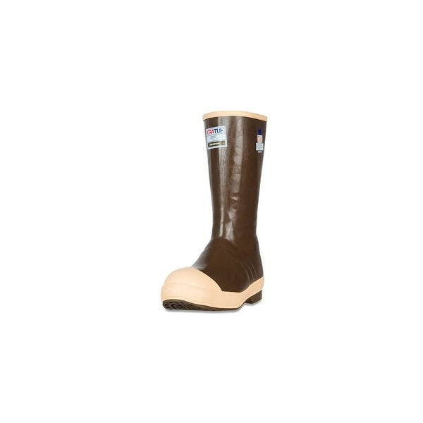 """Xtratuf Legacy Men's 15"""" Steel Toe Insulated Tan Boots w/ Quick Dry Cushioning - Size 8"""
