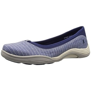 Grasshoppers Womens Reveal Canvas Fashion Skimmer Shoes - 5.5 wide (c,d,w)