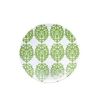 Q Squared NYC Venezia Melamine Pattern Plate