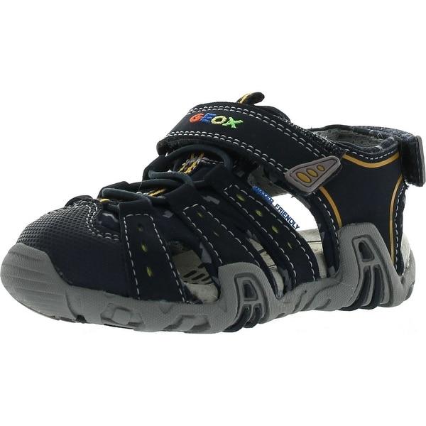 Geox Boys Kraze Adventure Sport Sandals - Navy - 26 m eu / 9 m us toddler