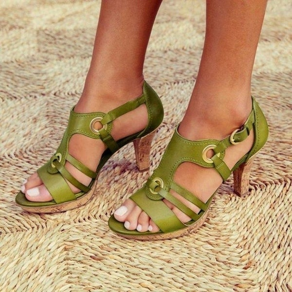 Women Sandals Ladies Shoes For Peep Toe Cross. Opens flyout.
