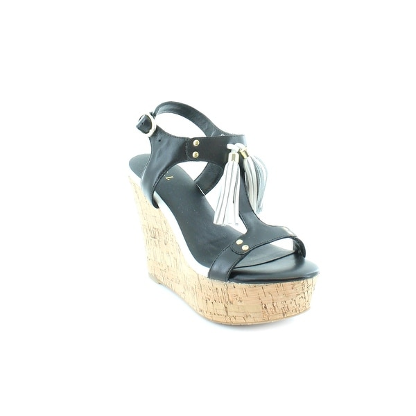 G.I.L.I. Kate Women's Sandals & Flip Flops Black - 5.5