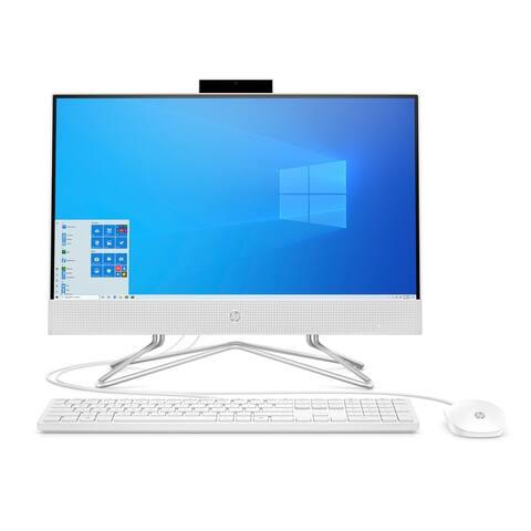 """HP 24"""" FHD Touch AIO i5-1035G1 12GB 1TB 256GB SSD W10(Refurbished)"""