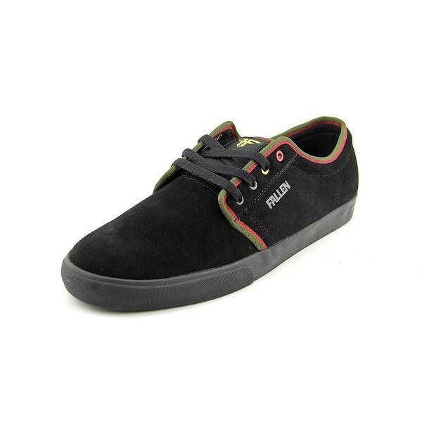 Fallen Forte 2 Men Round Toe Suede Black Skate Shoe