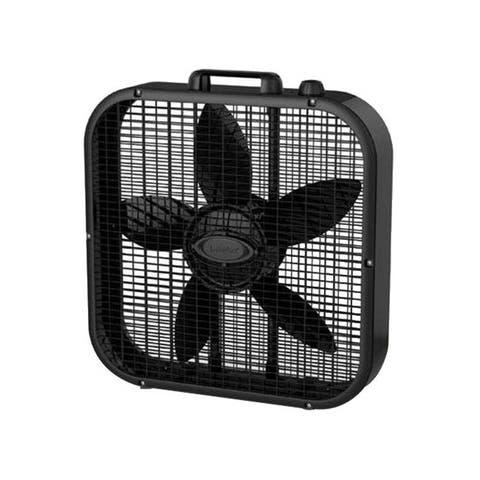 Lasko products b20401 20in box fan 3spd black