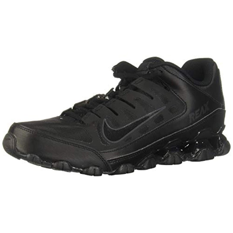 12 8 EU 621716 Reax Nike ShoesUK Sneakers Mesh US Running Trainers Anthracite 001 Mens 11 TR 46Black BdCreWxo