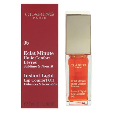 Clarins Instant Light Lip Comfort Oil - Shade 05 Tangerine