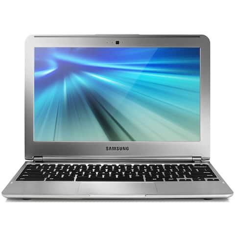 Samsung Chromebook XE303C12-A01US Samsung Exynos 5250 X2 1.7GHz 2GB 16GB, Silver (Scratch and Dent)