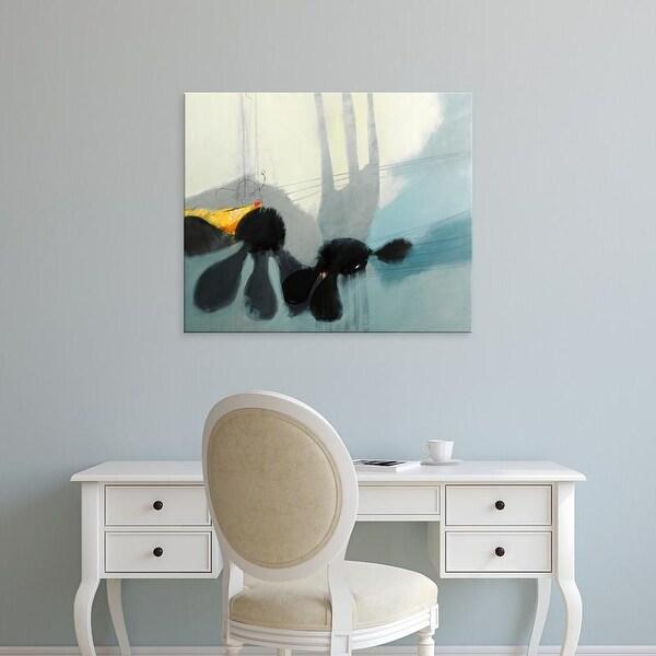 Easy Art Prints Sidsel Brix's 'Flowers Tale' Premium Canvas Art