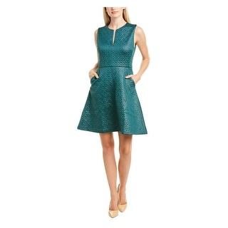 Link to NATORI Green Sleeveless Short Dress 10 Similar Items in Pants