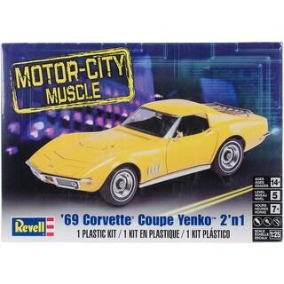 Plastic Model Kit-69 Corvette(R) Coupe Yenko(Tm)