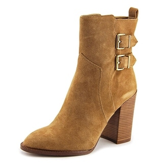 BCBGeneration Savanna Women  Round Toe Suede Brown Ankle Boot